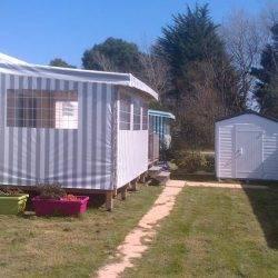 Vente mobil-home 2 chambres - Vue extérieur