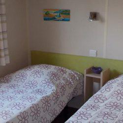Vente mobil-home 2 chambres - Chambres